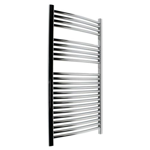 Abacus Elegance Radius Curved Towel Rail - 1120mm x 480mm - Chrome